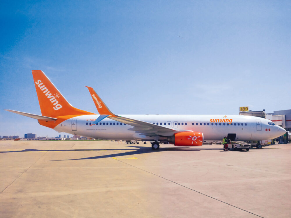 Sunwing Airlines 737