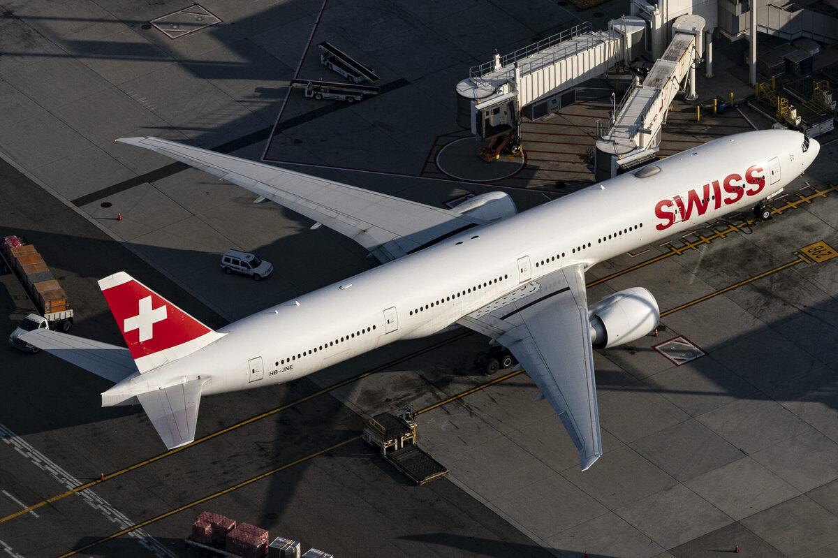 SWISS, Boeing 777, Premium Economy