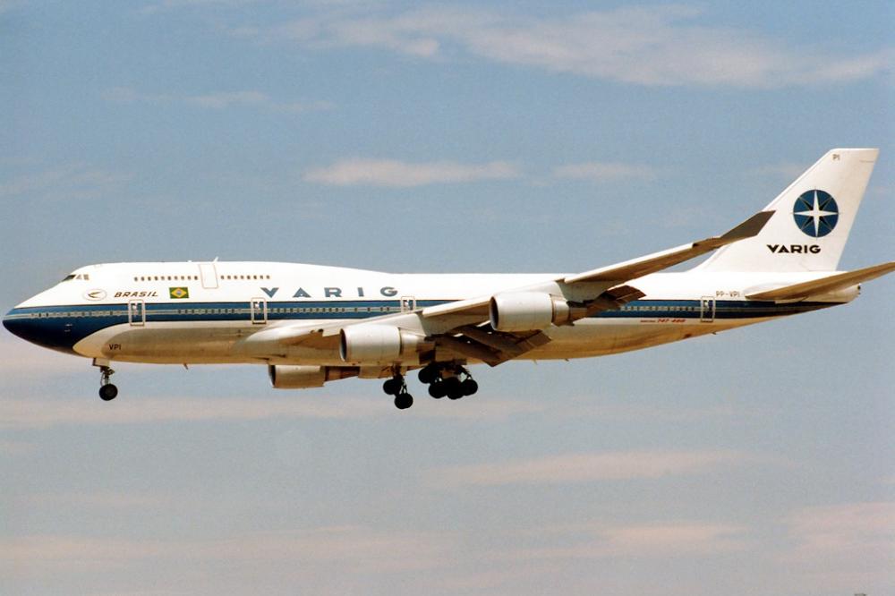 Varig Boeing 747-400