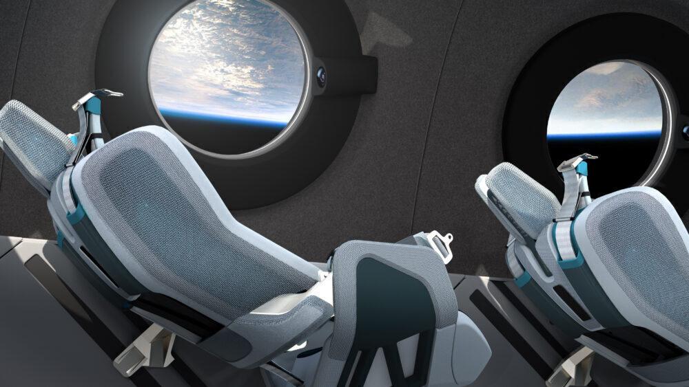 What Will Virgin Galactic Spaceships Be Like Inside?