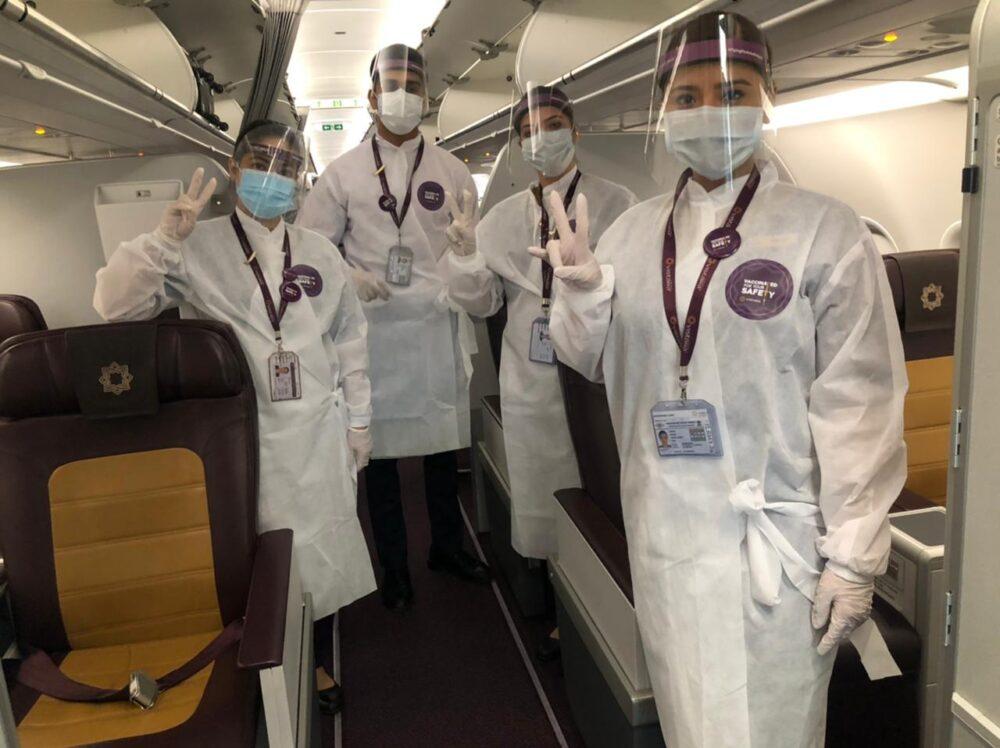 Vistara Crew Fully Vaccinated Flight
