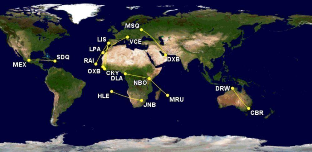 The World's Longest Embraer E190/195 Routes