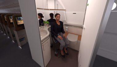 AirGo Space accessible bathroom