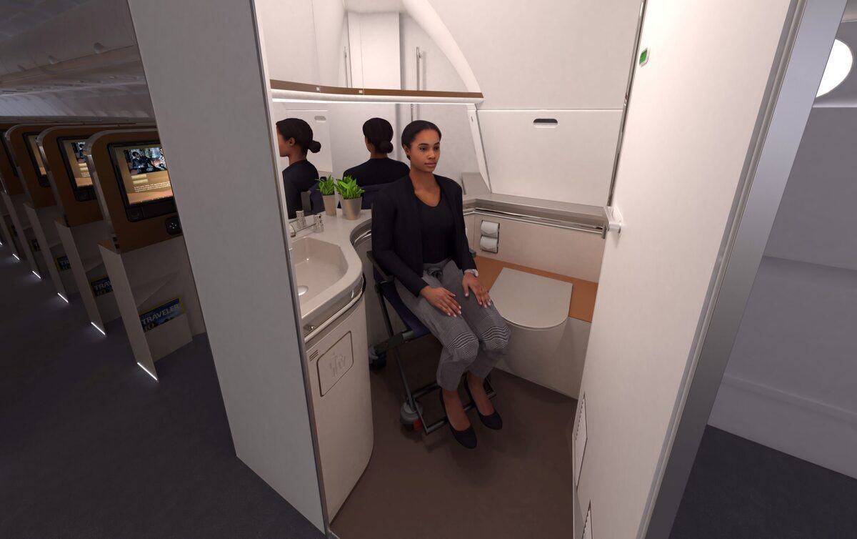 Coming Soon: Larger Aircraft Bathrooms – Better For All