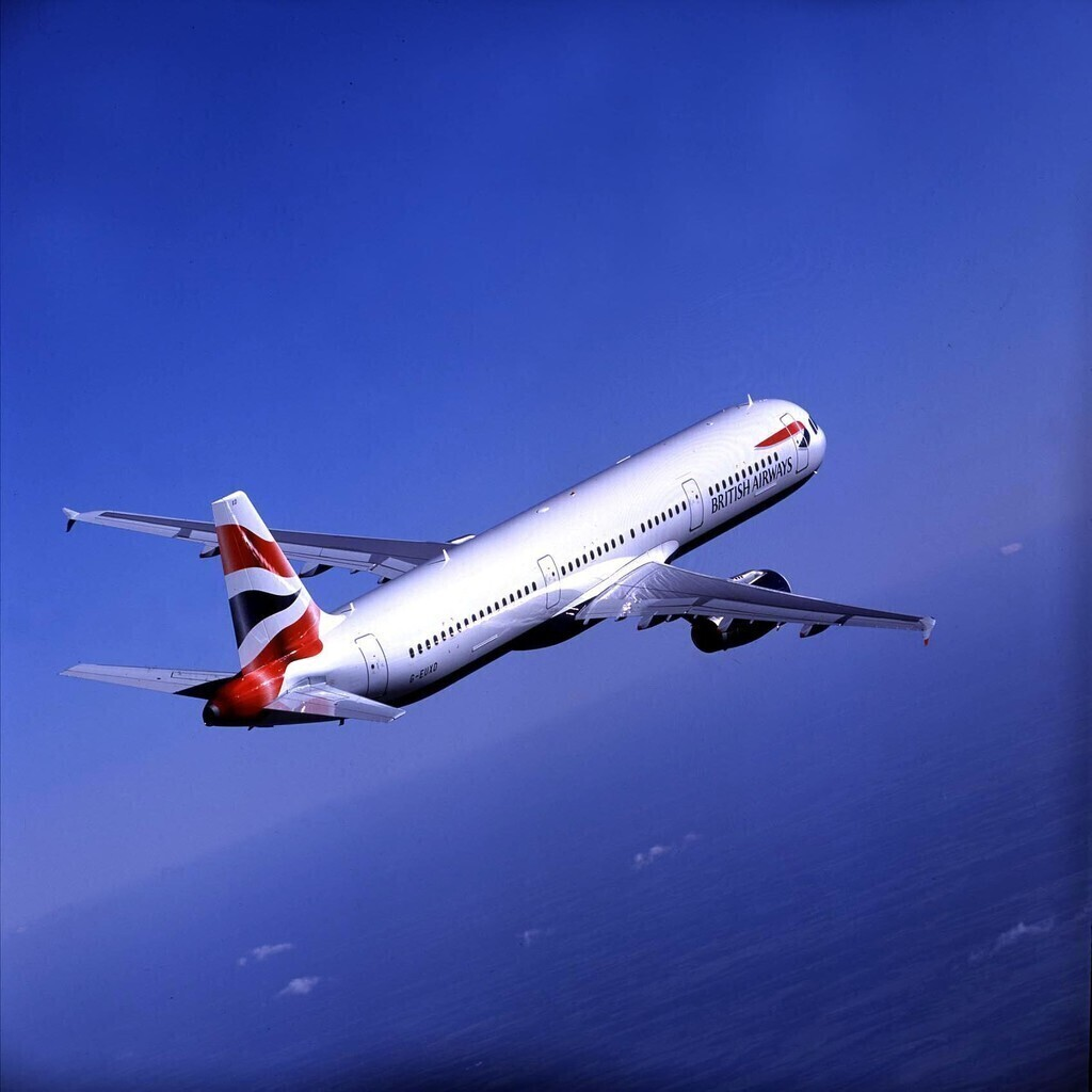Picture shows A321 aircraft.