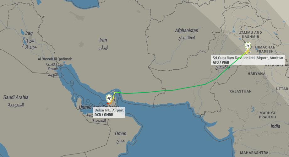Just One Passenger Flies On Air India A320 Flight To Dubai