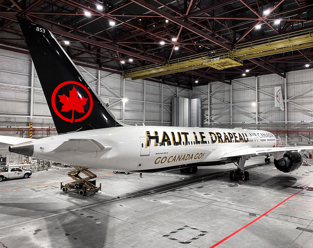 Air Canada, Olympic Livery, Boeing 787