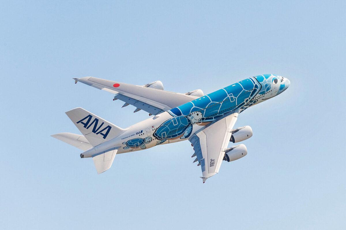 ANA, Airbus A380, Honolulu
