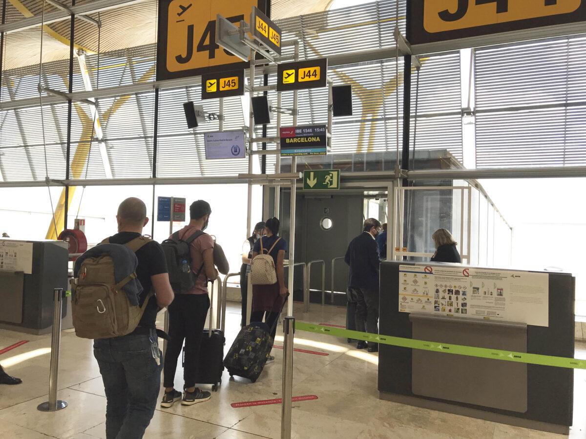 passengers Madrid