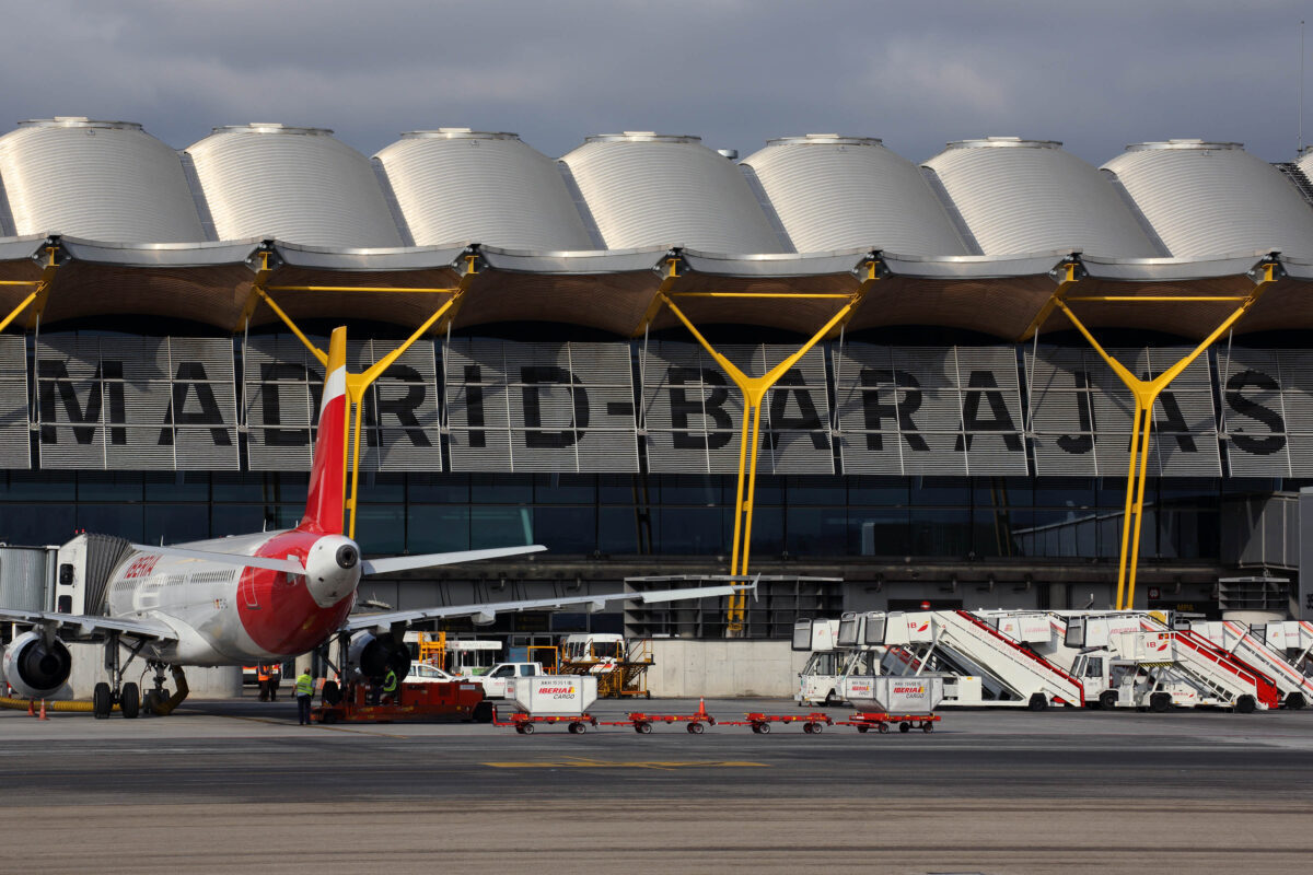 Iberia A320 Madrid