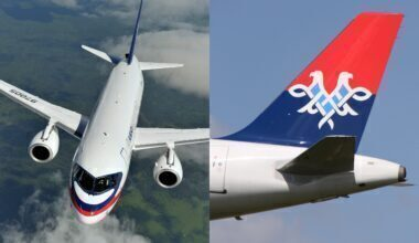 Air Serbia SSJ100