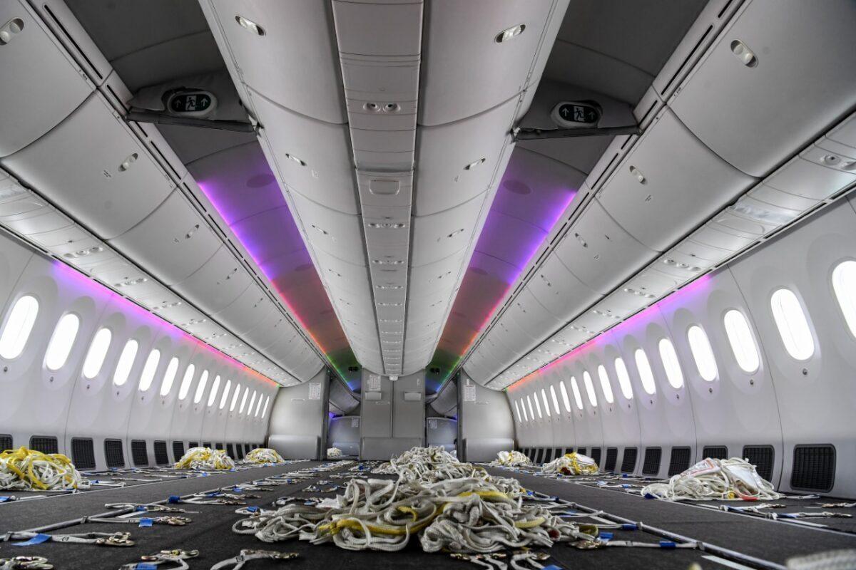 kenya airways converted Boeing 787 dreamliner