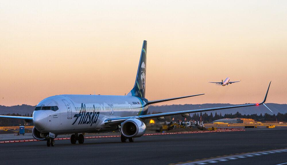 Alaska Airlines Portland