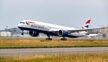 BA Airbus A350-1000