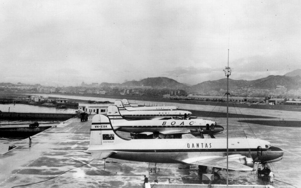 BOAC & Qantas Hong Kong
