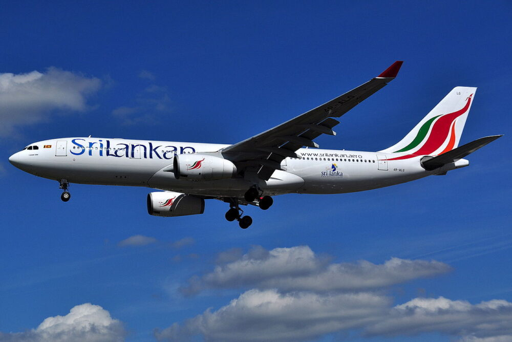Sri Lankan A330
