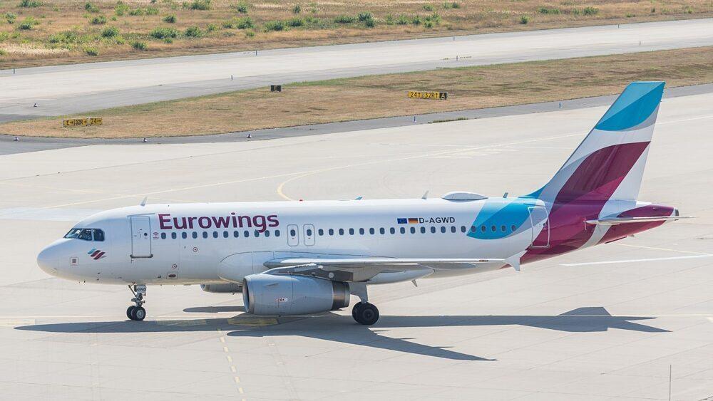 Airbus A319 eurowings