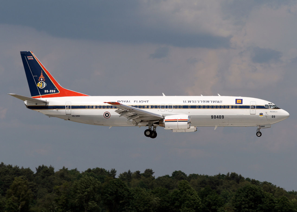 Thai Royal 737