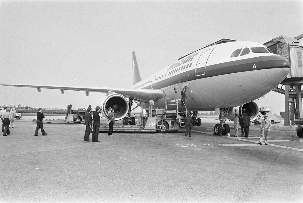 Swissair A310