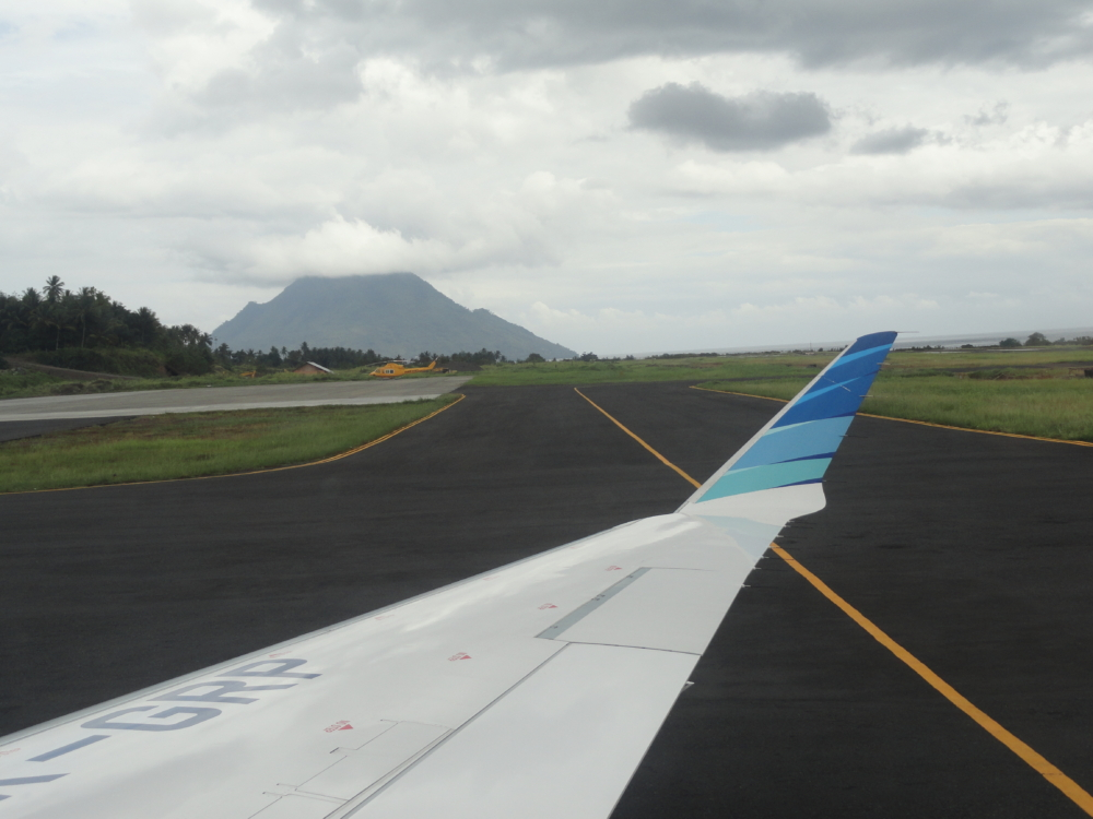 Ternate Airport Runway