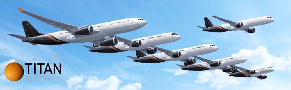 Titan Airways fleet