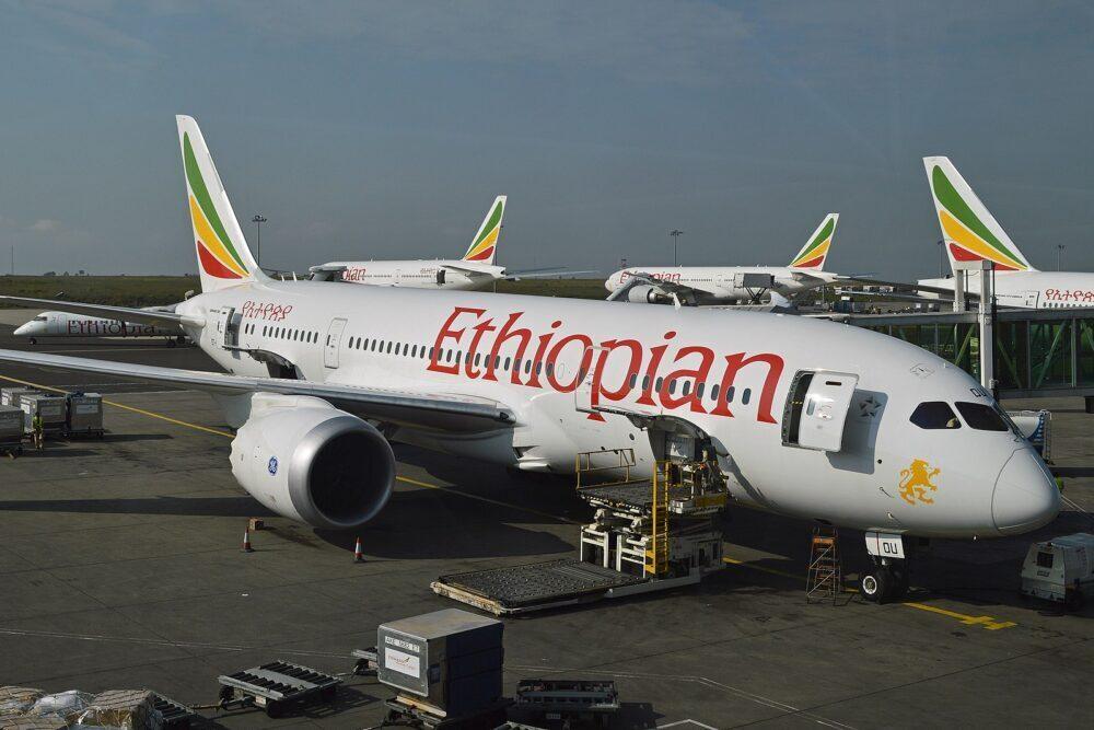 Ethiopian B787-8