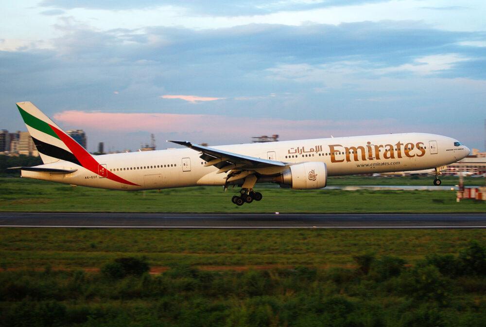 Emirates 777-300ER A6-ECF