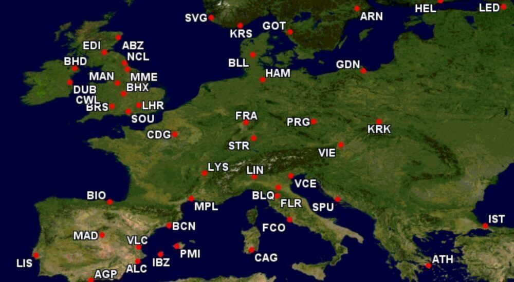 KLM Is Europe's 10th Largest Carrier: Where Is It Flying In July?