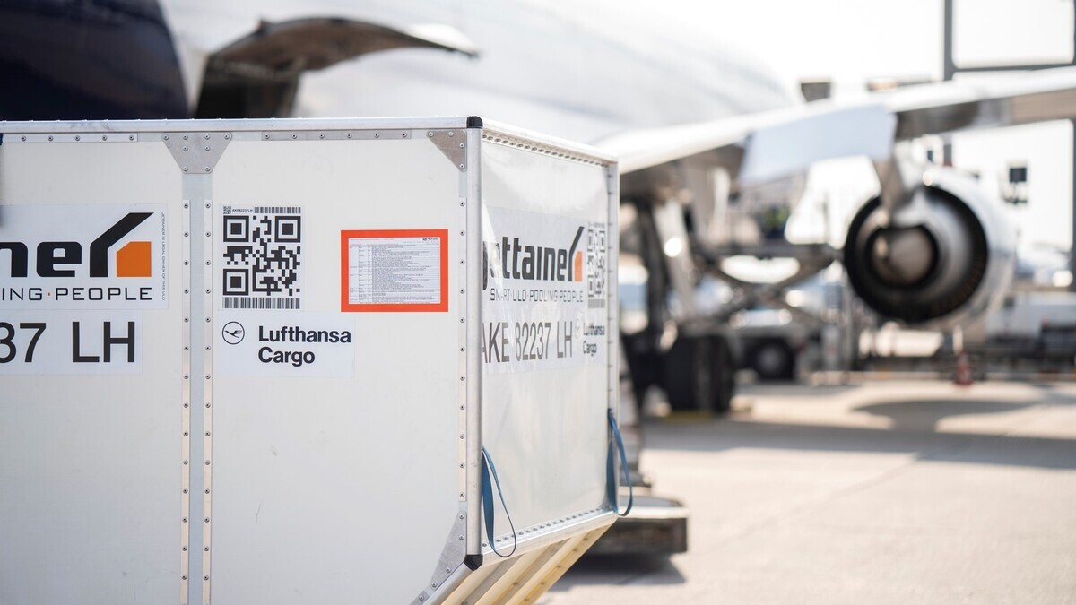 Lufthansa, Airbus A321, Freighter
