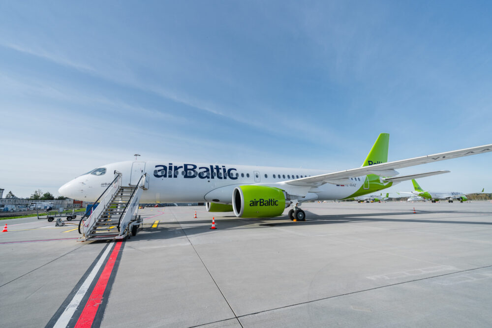 airBaltic's A220s Head To Scotland With A New Edinburgh Connection
