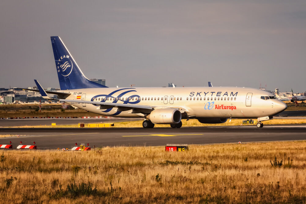 Air Europa Skyteam Boeing 737