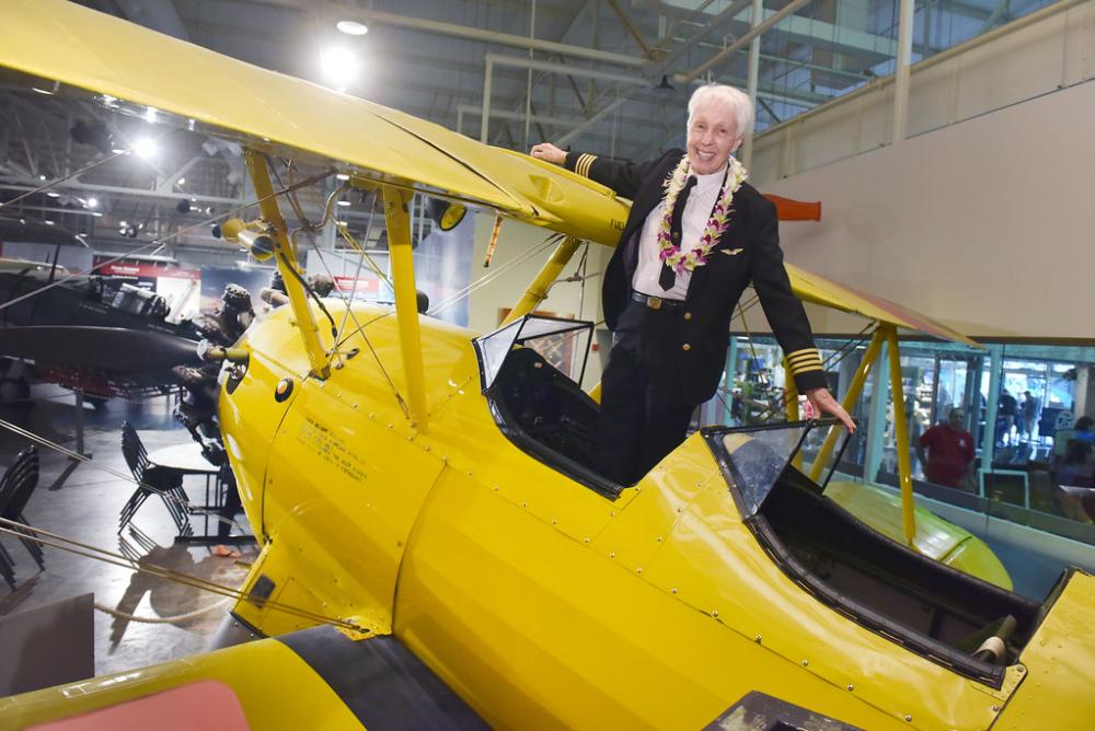 Wally Funk Plane