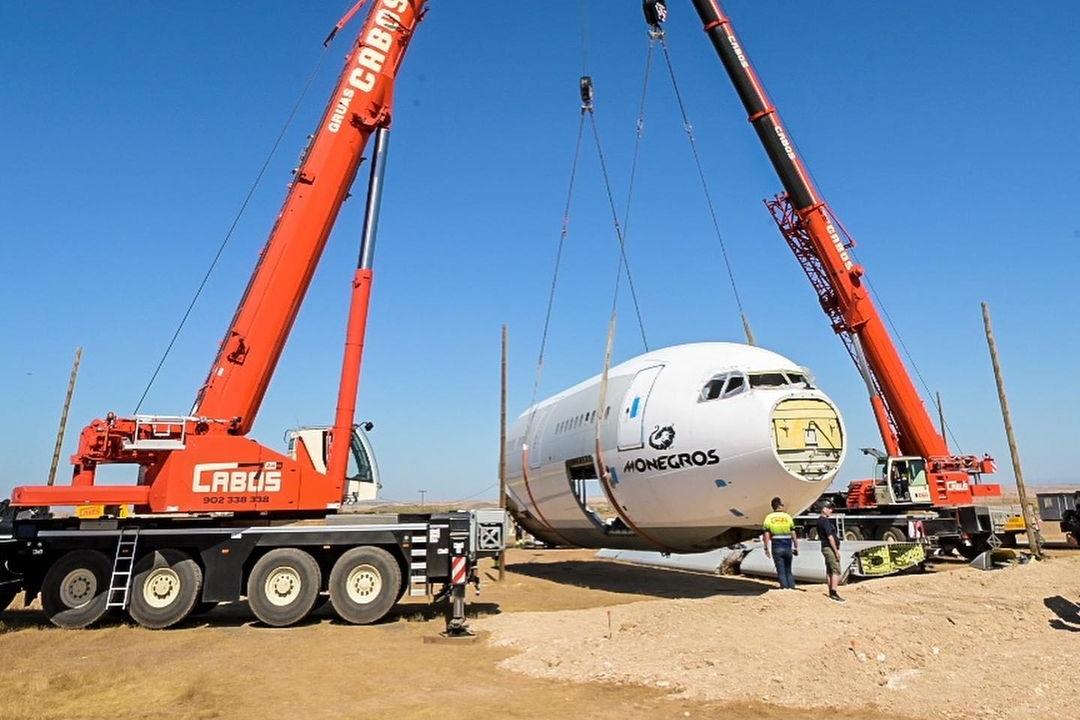 Airbus A330, Festival del desierto de Monocross, escenario de fusión