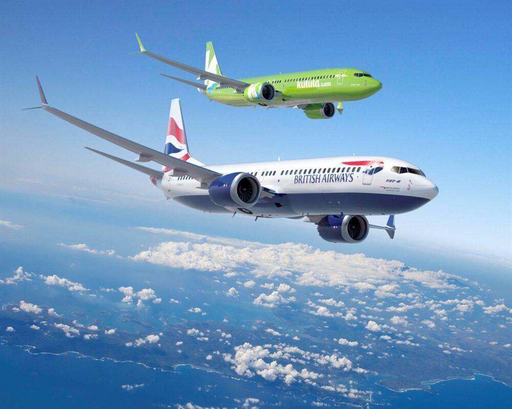 737 Comair British Airways Kulula