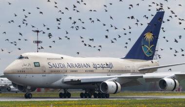 Saudi Boeing 747SP