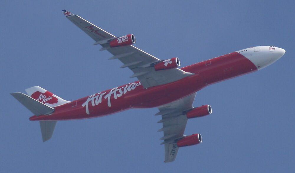 AirAsia X Airbus A340-300