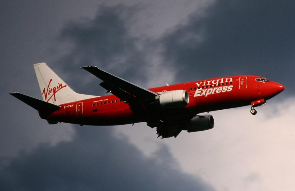 Virgin Express Boeing 737