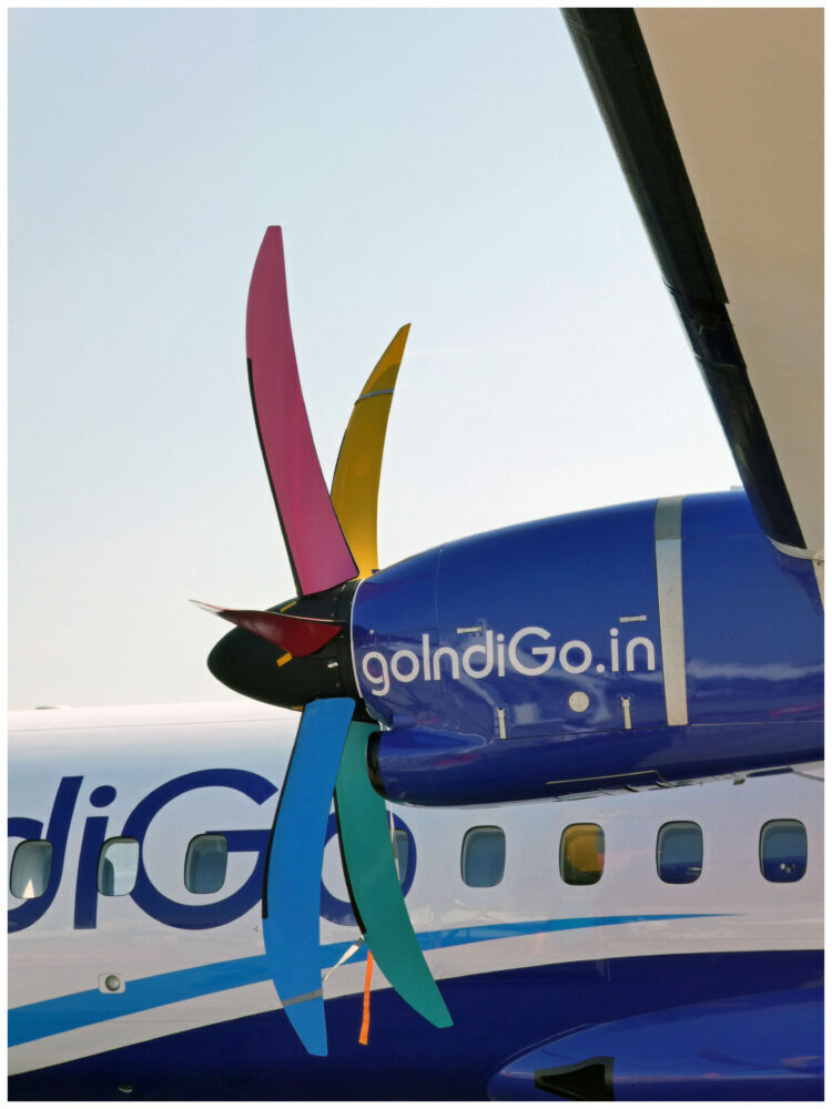IndiGo ATR 72 Turboprop