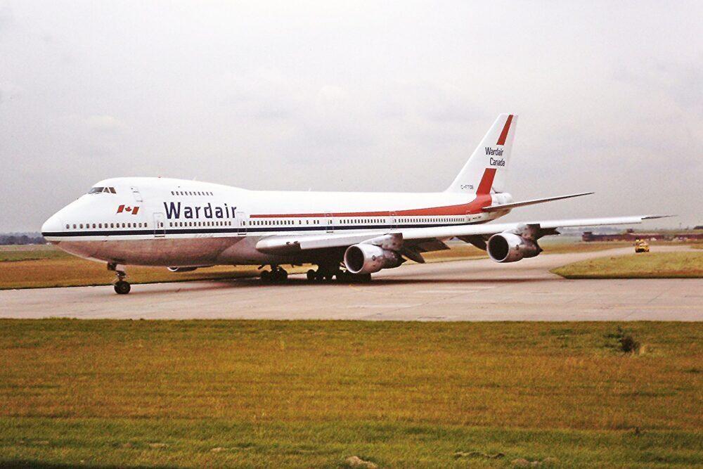 Wardair Boeing 747