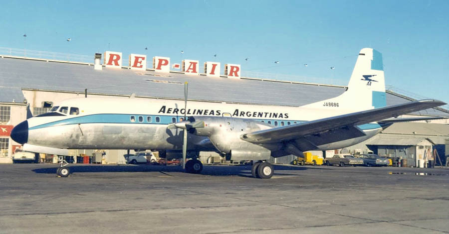 NAMC YS-11 Argentina