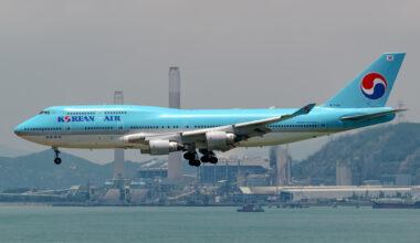 Korean Air Boeing 747-400
