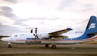 Icelandair Fokker 50