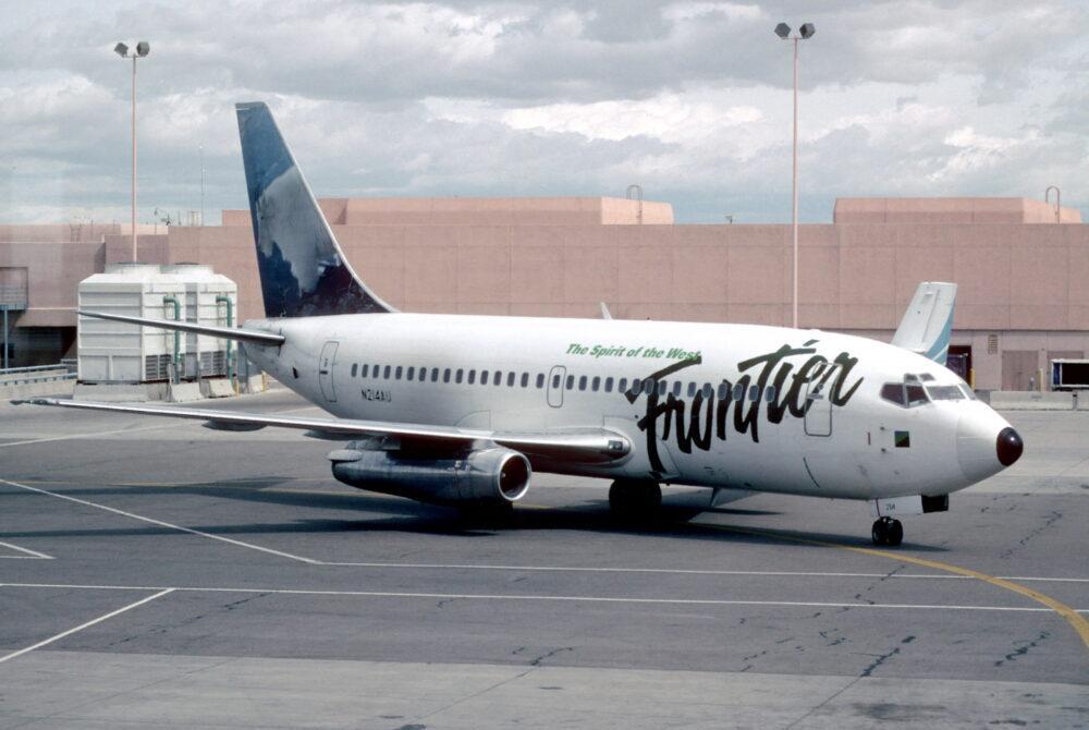 Frontier Airlines 737