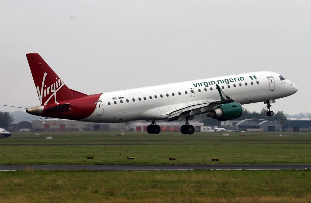 Virgin Nigeria Embraer