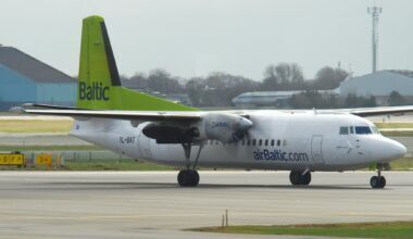 airBaltic Fokker 50