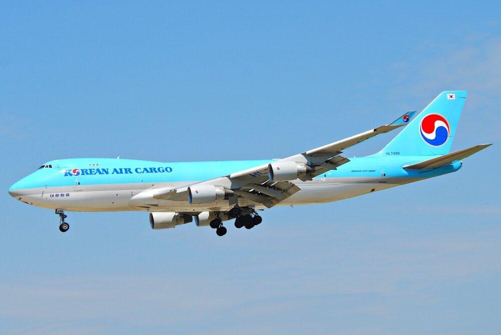 Korean Air Boeing 747-400ERF