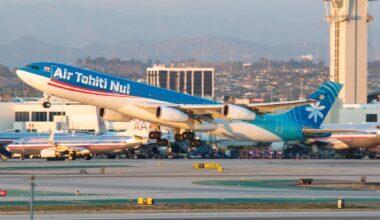 Air Tahiti Nui Airbus A340
