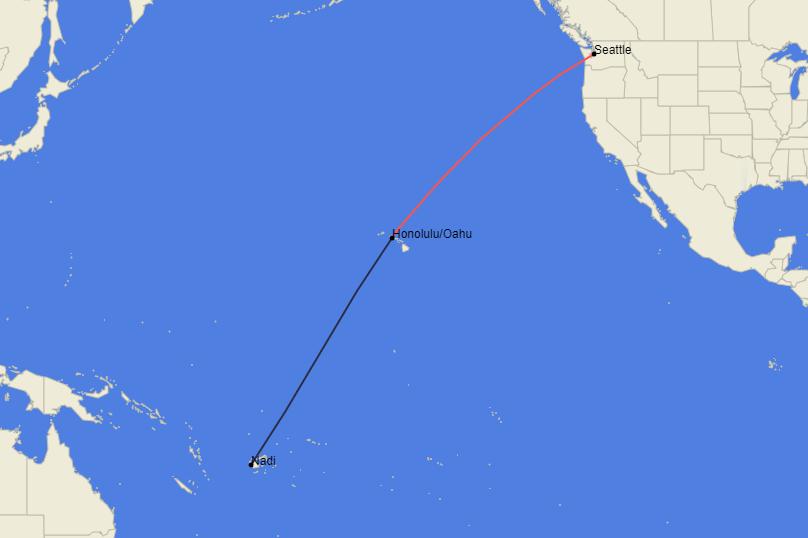 Fiji Airways, Boeing 737 MAX 8, Delivery