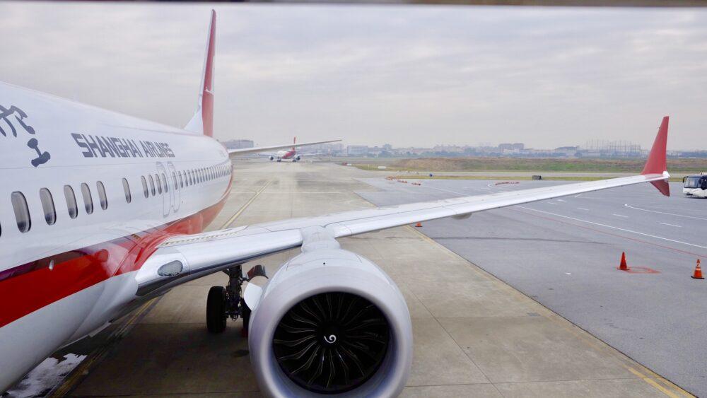 737 MAX shanghai airlines