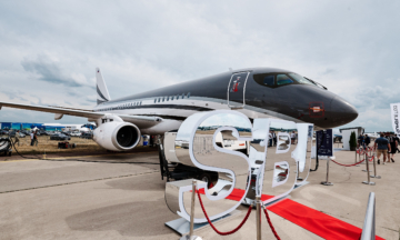 In Photos: Inside A Sukhoi Business Jet